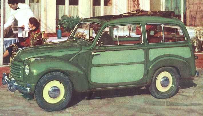 fiat 500 b, 500 c, belvedere - 1948-55